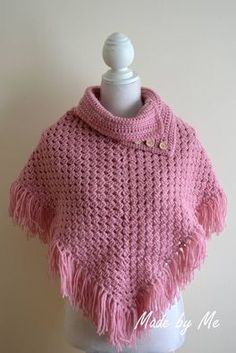 Poncho's en omslagdoeken / Sjaals, mutsen en poncho's | Giftsmadebyme.jouwweb.nl