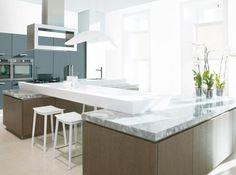 Cuisine design marbre porcelanosa