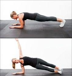 Abs Workout: 5-Minutes to a Flat Stomach exercise pins