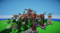 Hub #1 - Mysticronos Minecraft Project