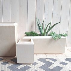 Yield / Planter Boxes Raw / @Yield Design Co on instagram