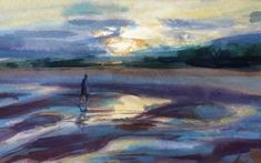 Francis Bowyer, Low Tide at Dusk, 2017