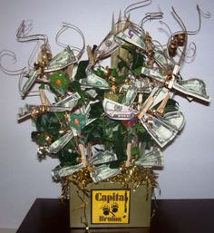 1000 images about tree ideas on pinterest lottery for How to decorate a money box