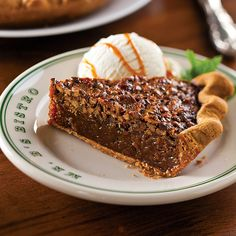 Pecan Crusted Pie : New Orleans Recipes : Mr. B's Bistro