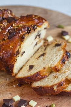 Rav's chocolate cardamom and hazelnut babka was praised for its lovely flavour #GBBO