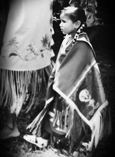 native american girl, via Flickr.
