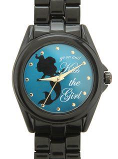 Disney The Little Mermaid Kiss The Girl Watch