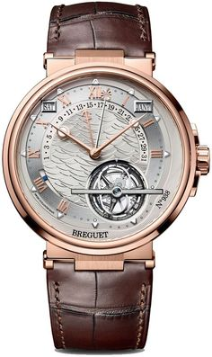Breguet Marine Équation Marchante 5887 - Rose Gold - Equation of Time Perpetual Calendar Tourbillon - Perpetuelle find that perfect wrist watch here today! Men's Watches, Fine Watches, Cool Watches, Fashion Watches, Silver Watches, Cartier Watches, Diamond Watches, Black Watches, Leather Watches