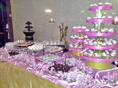 Pink & Gold Theme Wedding