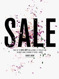 Sale Email Design //