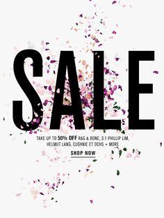 Sale Email Design //