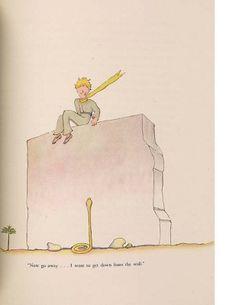 Antoine de Saint-Exupéry, illustration from The Little Prince