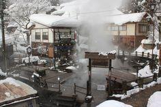 Onsens, Nozawa Onsen, Japan