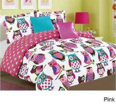 Owl Comforter Set Bedspread Bed Bag Sheet Bedding Bedroom Furniture Quilts Linen <3 <3 <3