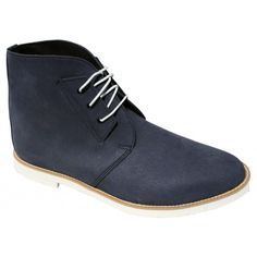 Union Street Desert Boot Blue