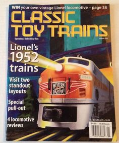 Classic Toy Trains Magazine January 2002 #Lionel Layout Vol 15 American Flyer #trains #toytrains