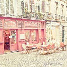 Pink Creperie in Paris LOVEEEEEE
