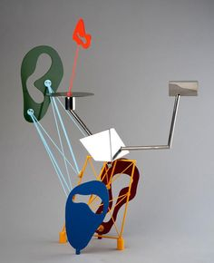 Peter Shire.   Redesign of household objects