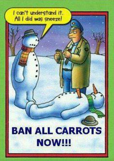 Snowman funnies