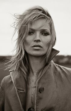 Kate Moss for Ponystep Magazine January 2014 Photographed by Lasse Fløde