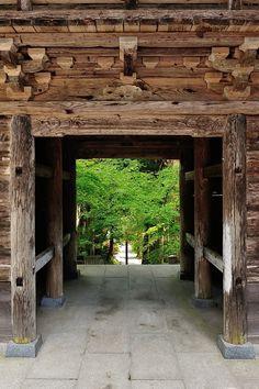 Chusen-Ji, Ina, Nagano, Japan Gifu, Shizuoka, Garden Architecture, Interior Architecture, Arch Gate, Nagano Japan, Japan Garden, Japanese History, Japanese Tea Ceremony