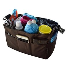 Diaper Bag Insert Organizer for Stylish Moms, Brown (More Color Options Available), 12 pockets, Turn Your Favorite Tote Bag into A Trendy Diaper Bag, by MommyDaddy&Me, Brown MommyDaddy&Me http://www.amazon.com/dp/B017LJLJ5C/ref=cm_sw_r_pi_dp_b0QLwb1A55Z2P