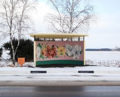 Colorful Bus Stops In Belarus By Alexandra Soldatova