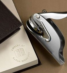 This personalized book embosser is the perfect Christmas gift idea for a print book lover.