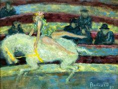 The Athenaeum - The Horsewoman (Pierre Bonnard - )