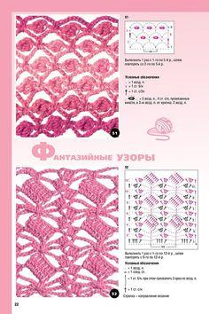 Häkelmuster häkeln Muster Openwork  - crochet patterns stitches