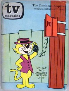 Top Cat - FANTASTIC PIN - WOW - My favorite - very very nice - (p)1967 - thanks Chris Sobieniak - thanks thanks thanks