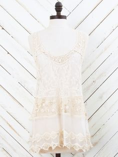 e7c32140fbbba Lace Love Tank. Lace TankCrochet LaceClothing StoresEvolutionTank Tops BlousesClothing ...