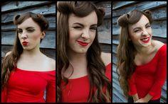 """stylizacja wykonana przez p. Joannę Magdziak na konkurs #LooksusLashes """"Klasyka z przymrużeniem oka"""""""