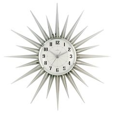 Acctim 21767 Stella Starburst Wall Clock, Silver Acctim http://www.amazon.co.uk/dp/B004IYZZOK/ref=cm_sw_r_pi_dp_TCi2wb1CY4BZF