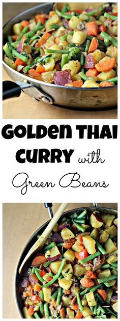 Golden Thai Curry with Green Beans