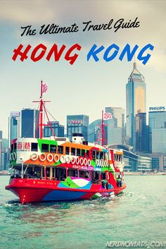 The Ultimate Travel Guide To HONG KONG. #hongkong @nerdnomads http://nerdnomads.com/guide-to-hong-kong