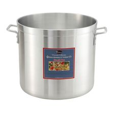 Winco ALHP-80 Precision Stock Pot, 80 quart, 19' x 17' >>> To view further, visit now : Steamers, Stock and Pasta Pots
