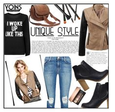 """""""YOINS-Color Block Jacket (Contest with prizes)"""" by merima-balukovic ❤ liked on Polyvore featuring мода, J Brand и yoins"""