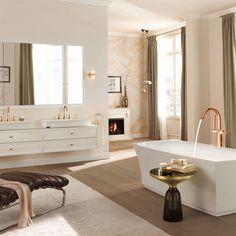 EKBB - Artikel - Dress it up - favourite bathrooms - Badezimmer Master Bedroom Bathroom, Laundry Room Bathroom, Bath Room, Master Bath, Dream Bathrooms, Beautiful Bathrooms, Bathrooms 2017, Bathroom Trends, Bathroom Ideas