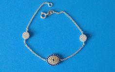 925 Sterling Silver Zirconia Evil Eye Bracelet