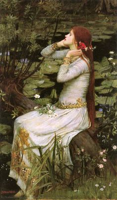 Ophelia 1894 - List of paintings by John William Waterhouse - Wikipedia John William Waterhouse, Renaissance Kunst, Renaissance Paintings, Ophelia Painting, Michael Lang, List Of Paintings, Pre Raphaelite Paintings, Art Gallery, Classic Paintings