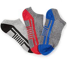 Class Club 3-Pack No Show Athletic Socks