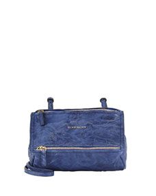 d605efd17c85 Givenchy Pandora Mini Leather Crossbody Bag