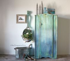 The Turquoise Iris ~ Vintage Modern Hand Painted Furniture: I'm Being a Cheater and I'm Blaming You!