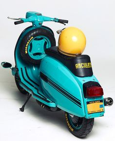Lambretta DL125 project in NYC