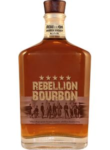 Rebellion Bourbon Whiskey. Aged for a minimum of six years, each bottle of Rebellion Kentucky Straight #Bourbon #Whiskey is numbered and bottled by hand. | @Caskers