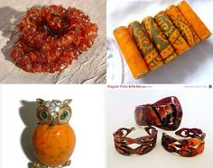 Fall in All Its Splendor features my Baltic amber nugget necklace!