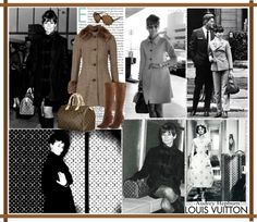 """""""Audrey Hepburn and Louis Vuitton"""" by love-audrey-hepburn ❤ liked on Polyvore"""