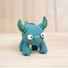 polymer clay monster [Etsy: Beastlies]