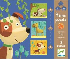 Ideal for early learning Three distinguished dogs feature in this first puzzle for little ones. There is a 4 piece, 6 piece and 9 piece puzzle This puzzle makes a great present for toddlers. Dog Puzzles, Puzzles For Kids, Jigsaw Puzzles, Arts And Crafts Kits, Craft Kits, Baby Kind, Early Learning, Toys For Boys, Boy Toys